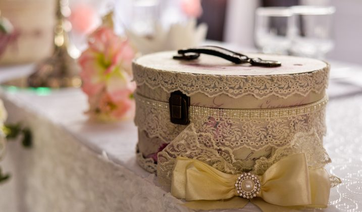 Atelier de décoration de boîte à bijoux