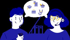 Un centre d'aide pour les démarches en ligne essentielles