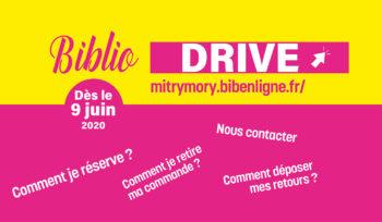 Biblio-drive dès le 9 juin 2020
