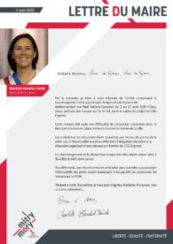Lettre du maire – Août 2020