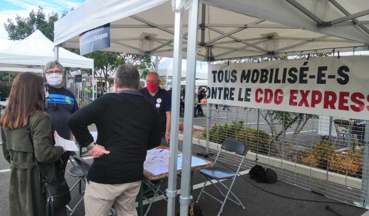 CDG Express : les riverains entament une action en justice