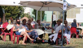 Les seniors célèbrent l'été indien