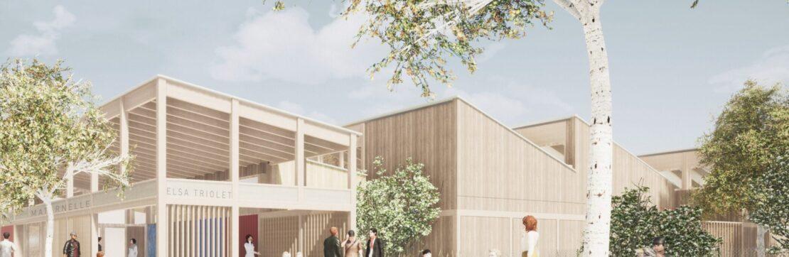 École Elsa Triolet : un projet respectueux de son environnement