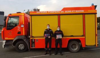 Le calendrier des pompiers en ligne