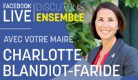 Facebook live avec Charlotte Blandiot-Faride