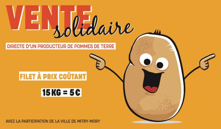 Vente solidaire de pommes de terre