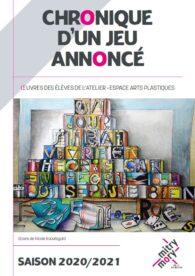 Catalogue des travaux d'élèves de l'Atelier 2020/21