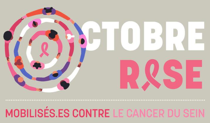 Octobre rose : campagne nationale de sensibilisation